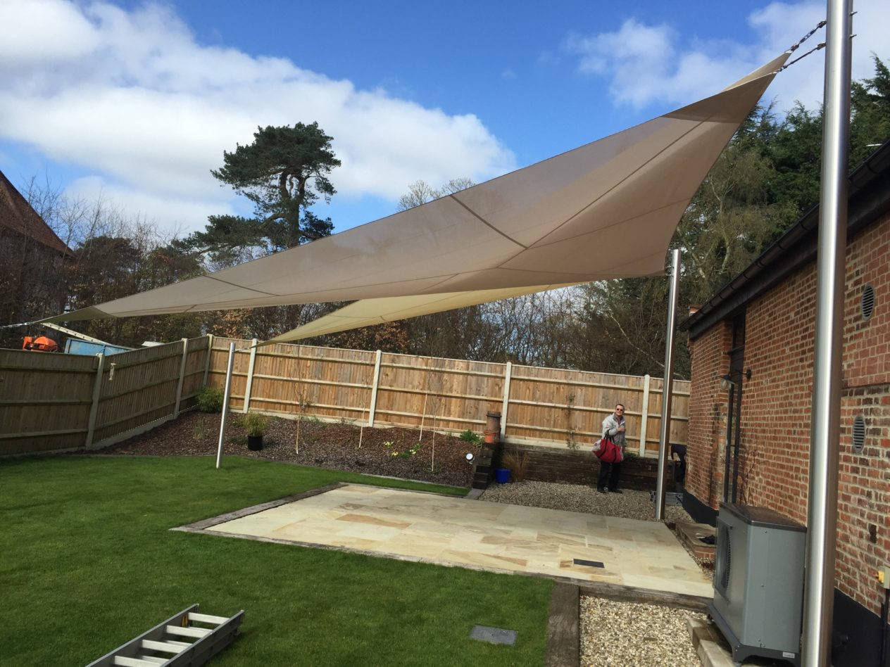 A testimonial shade sails for Colorado shade sail